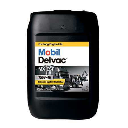 15w40 1 - Mobil Delvac MX™ ESP 15W-40