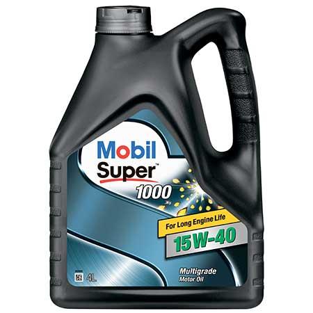 15w40 - Mobil Super 1000 X1 15W-40