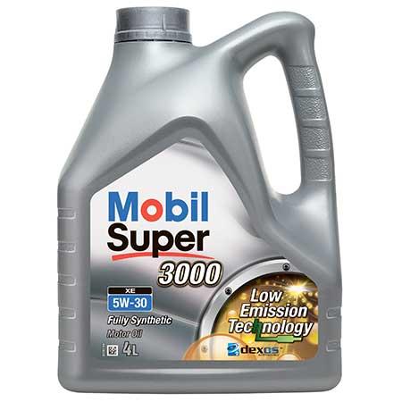 5w303000 - MOBIL SUPER™ 3000 XE 5W-30