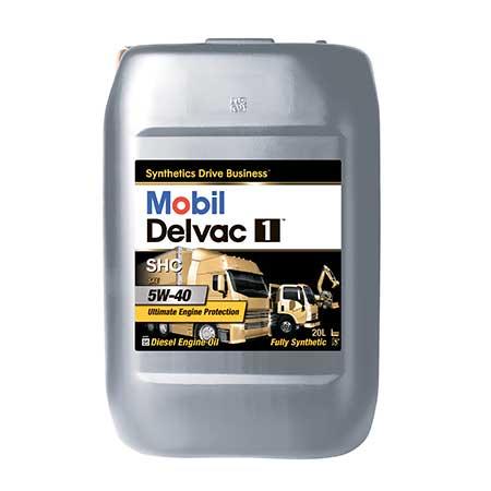 5w40shc - MOBIL DELVAC 1™ SHC 5W-40