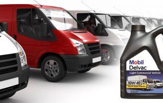 red white vans 320x202 - Новый продукт Mobil Delvac для легкого коммерческого транспорта